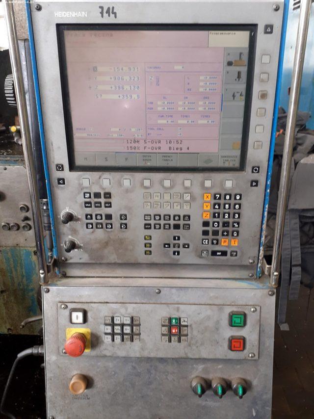 Frezarka bramowa CNC STANKOIMPORT 6M610F11