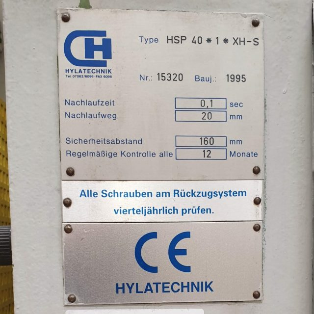 Hylatechnik HSP 40 1 XH-S