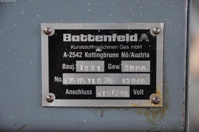 BATTENFELD BA 750 CD PLUS