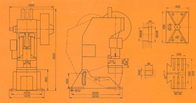 SMV PRESSES CO1250-2